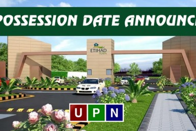 Etihad Town Lahore Phase 2 - Possession Date Announced
