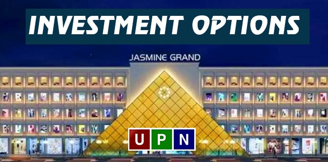 Investment Options in Jasmine Grand Mall Lahore