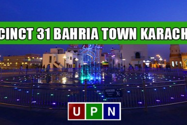 Precinct 31 Bahria Town Karachi - Possession Announced