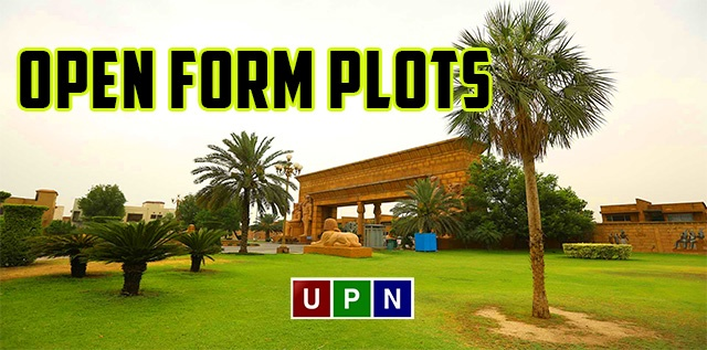 Open Form Plots in Bahria Town Lahore and Bahria Orchard Lahore