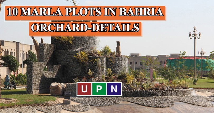 10 Marla Plots for Sale in Bahria Orchard Lahore – All Details