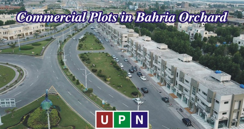 4 Marla, 5 Marla, and 8 Marla Commercial Plots in Bahria Orchard Lahore