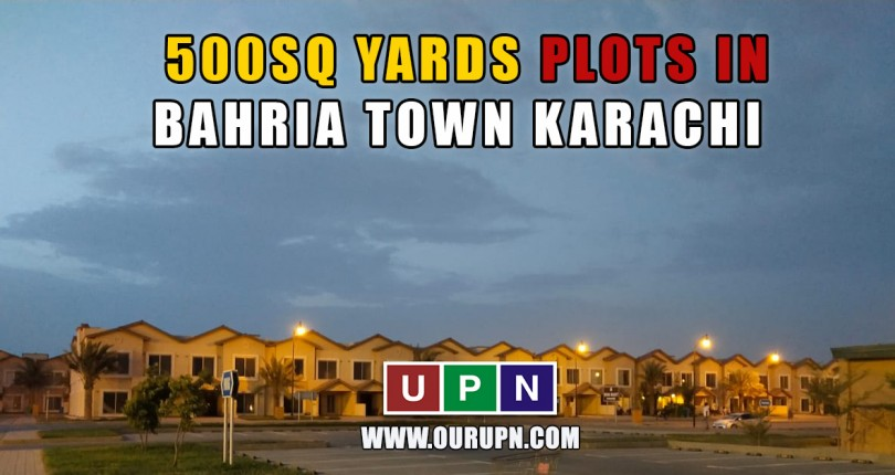 Latest Prices of 500 Sq Yards Plots in Bahria Town Karachi