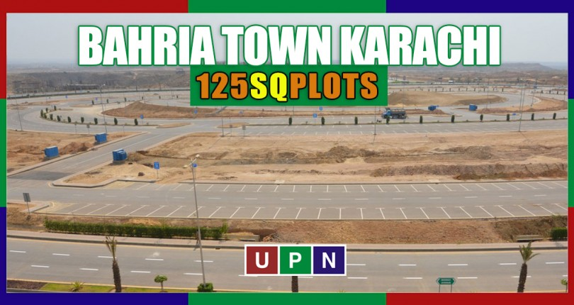 Latest Prices of 125 SQ Yards Plots in Bahria Town Karachi