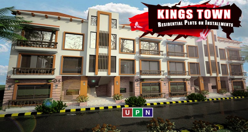 Residential Plots on Installments in Kings Town Lahore