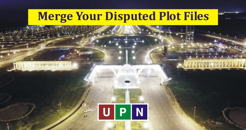 Merge Your Disputed Plot Files in On-Ground Plots – Bahria Town Karachi