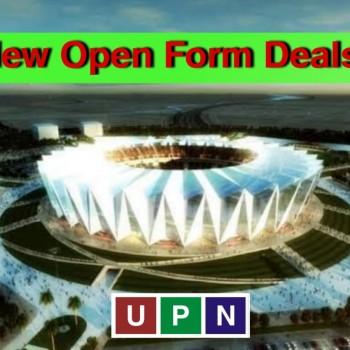 New Open Form Deals