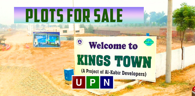 Plots for Sale in Kings Town Lahore – New Deal Announced