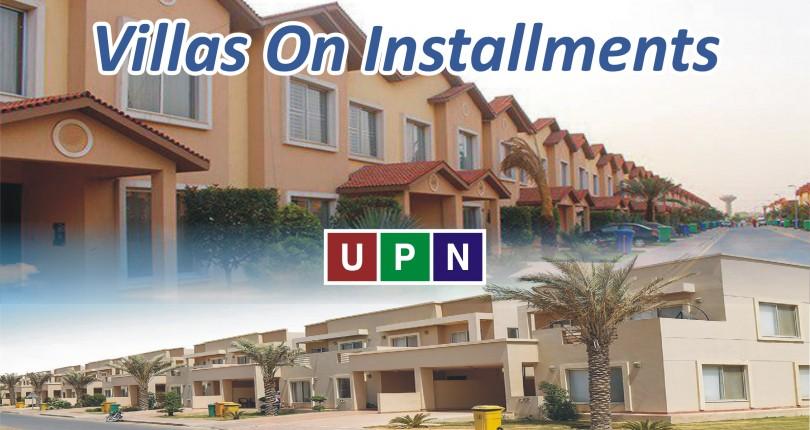 Villas On Installments In Bahria Town Karachi