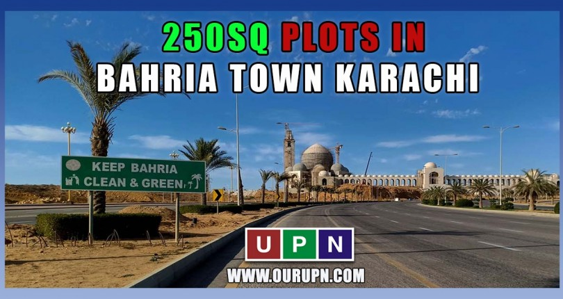 Latest Prices of 250 Sq Yards Plots in Bahria Town Karachi