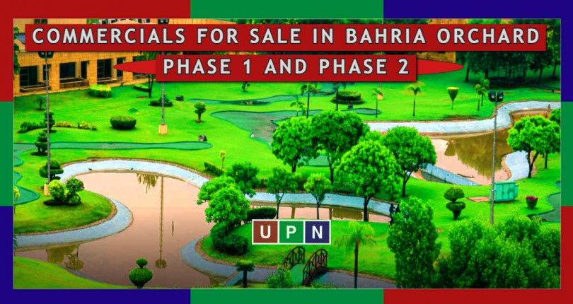 Commercials for Sale in Bahria Orchard Phase 1 and Phase 2