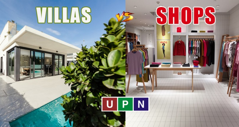 Villas or Shops – Which is Good for Investment in Lahore