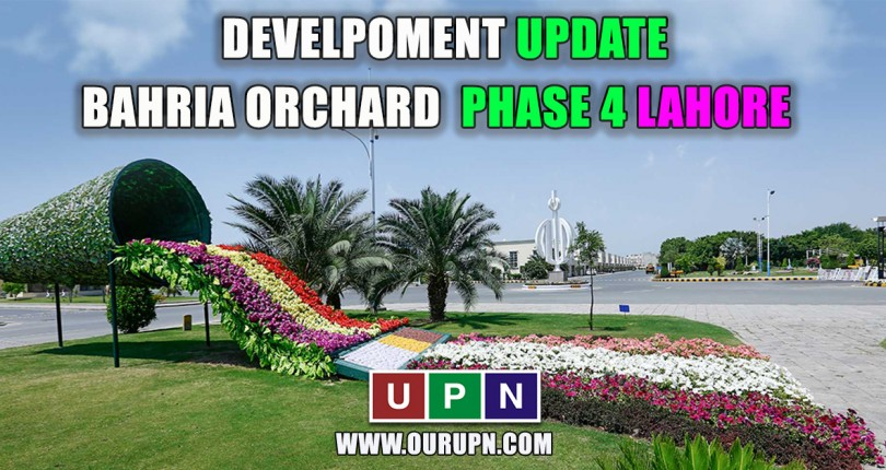 Construction Update in Bahria Orchard Lahore Phase 4