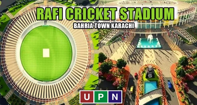 Rafi Cricket Stadium Bahria Town Karachi – Development Update 2021