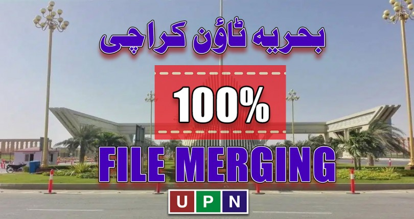 100% File Merging Facility in Bahria Town Karachi – Limited Time Offer
