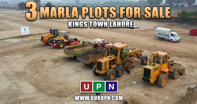 3 Marla Plots for Sale in Kings Town Lahore