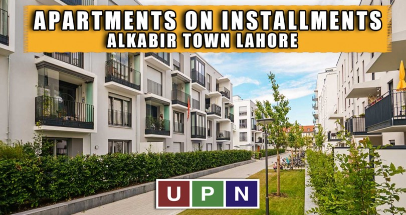 Apartments with Numbers on Easy Installments in Al-Kabir Town Lahore