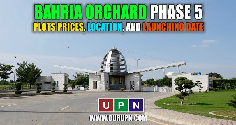 Bahria Orchard Phase 5 – Plots Prices, Location, and Launching Date