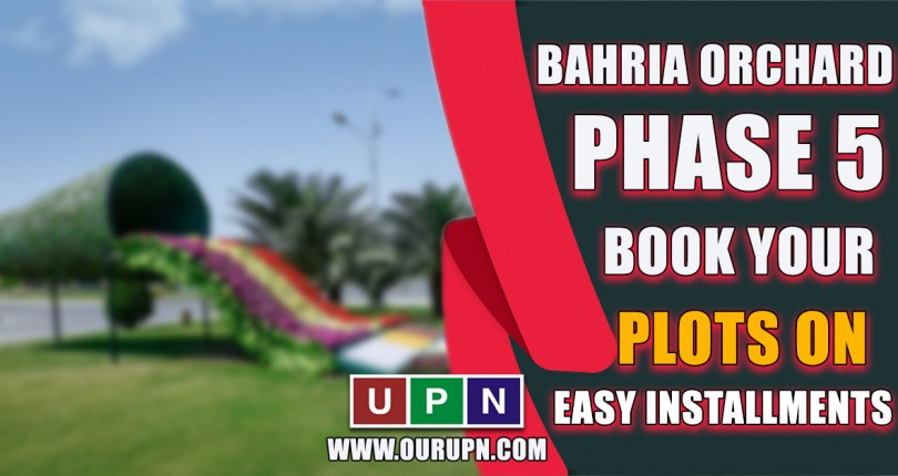 Bahria Orchard Phase 5 – Book Your Plots on Map on Installments