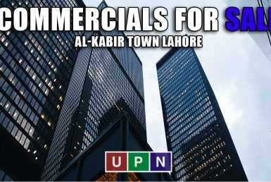 Commercial Plots for Sale in Al-Kabir Town Lahore