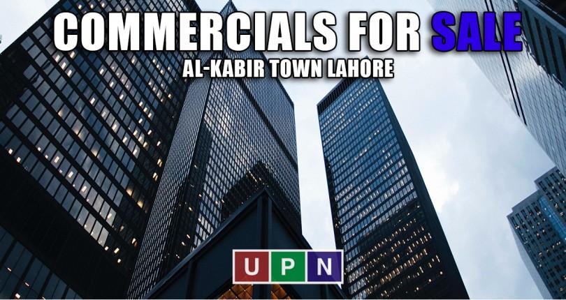Commercial Plots for Sale in Al-Kabir Town Lahore