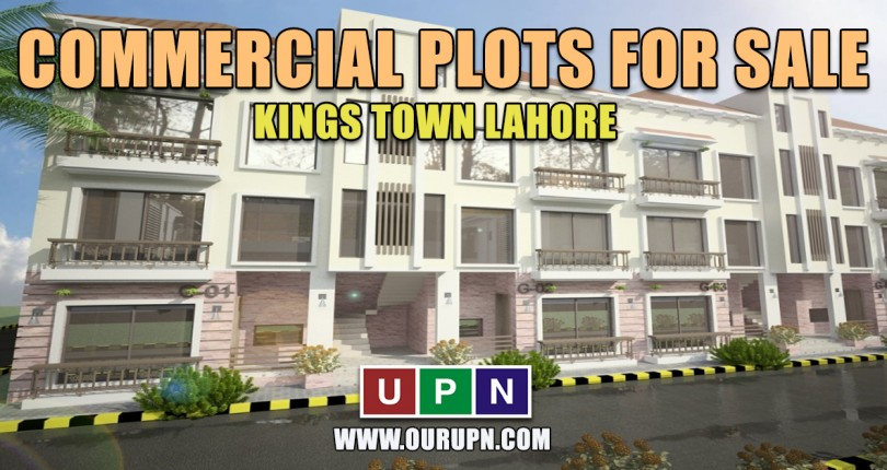 Commercial Plots for Sale in Kings Town Lahore – New Deal