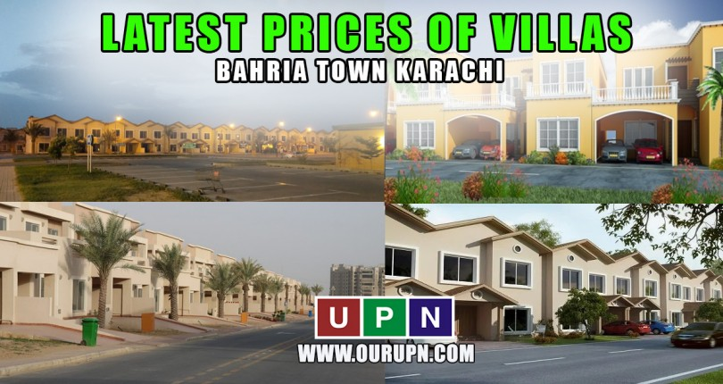Latest Prices of Villas in Bahria Town Karachi in 2021
