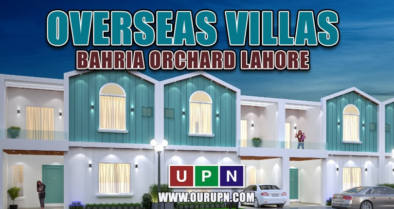 Overseas Villas Bahria Orchard – Confirm Booking with Villas Number