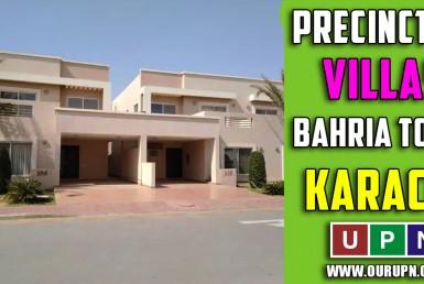 Precinct 27 Villas Bahria Town Karachi - Updates 2021