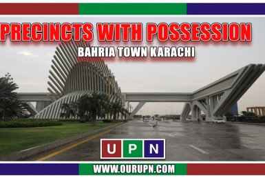 Precincts with Possession in Bahria Town Karachi