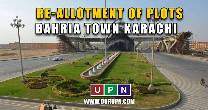 Re-allotment of Plots in Bahria Town Karachi – Updates 2021