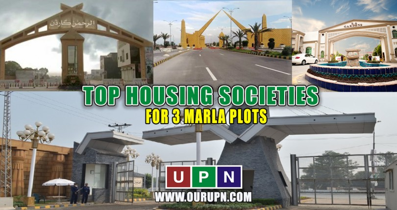 Top Housing Societies with the Best 3 Marla Plots in Lahore