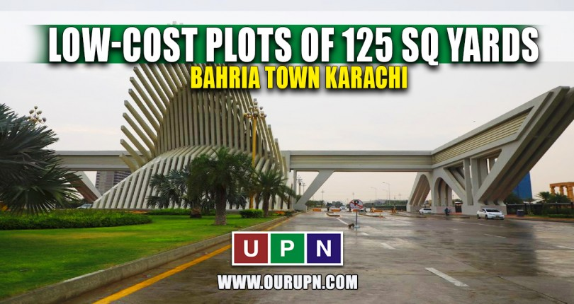 Low-Cost Plots of 125 Sq Yards in Bahria Town Karachi