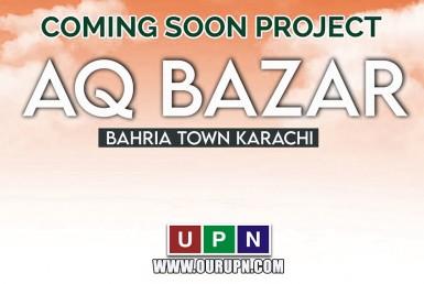 AQ Bazaar - Coming Soon in Bahria Town Karachi