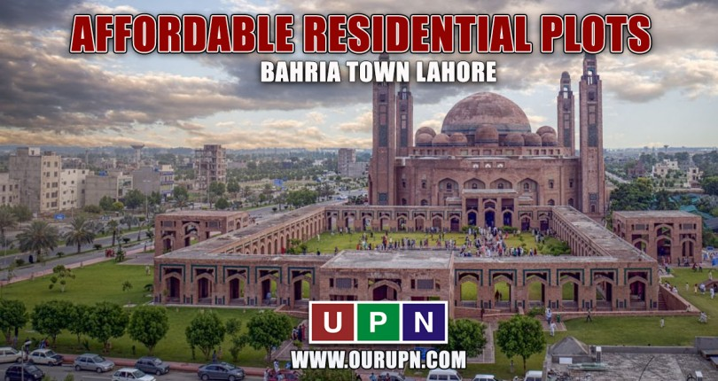 Affordable Residential Plots in Bahria Town Lahore in 2021