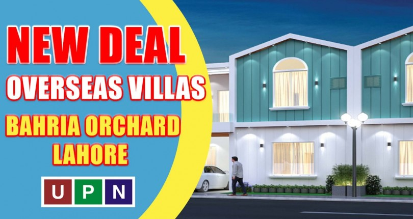 Overseas Villas – Another New Deal and New Opportunity in Lahore