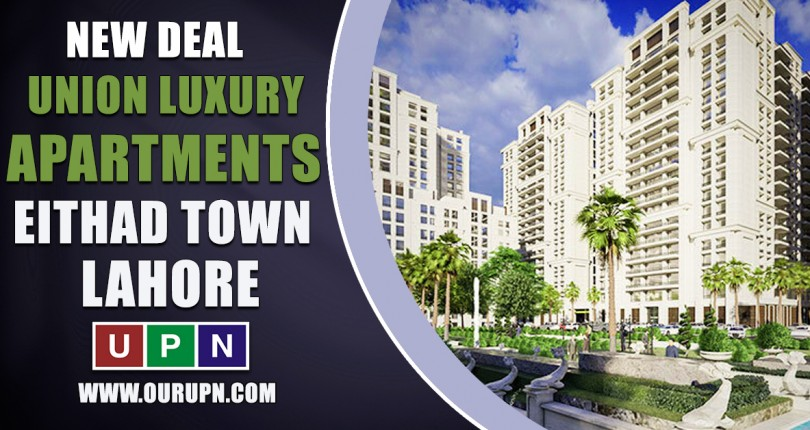 Union Luxury Apartments Etihad Town Lahore- New Deal Launched
