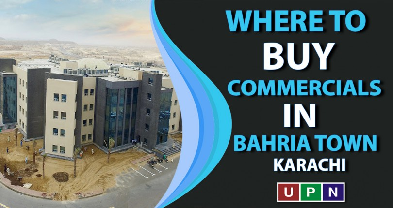 Where to Buy Commercials in Bahria Town Karachi?