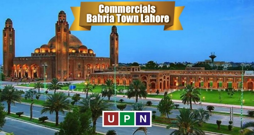 Commercials In Bahria Town Lahore