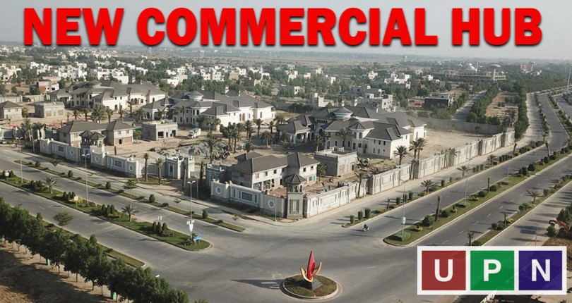 Sector F, New Commercial Hub in Bahria Town Lahore