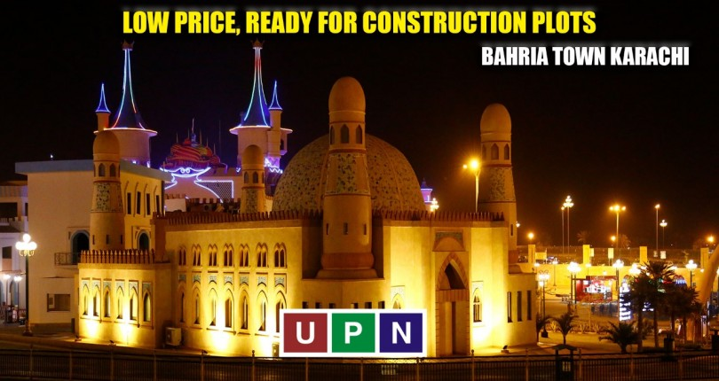 Low Price, Ready for Construction Plots in Bahria Town Karachi