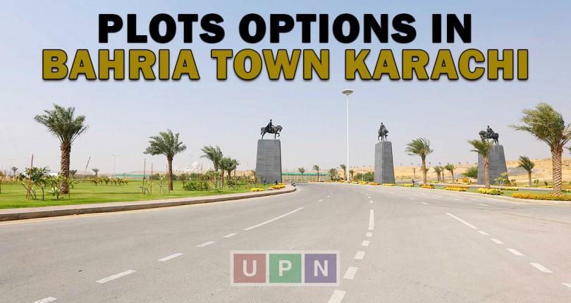 500 Sq Yards Plots Options in Bahria Town Karachi