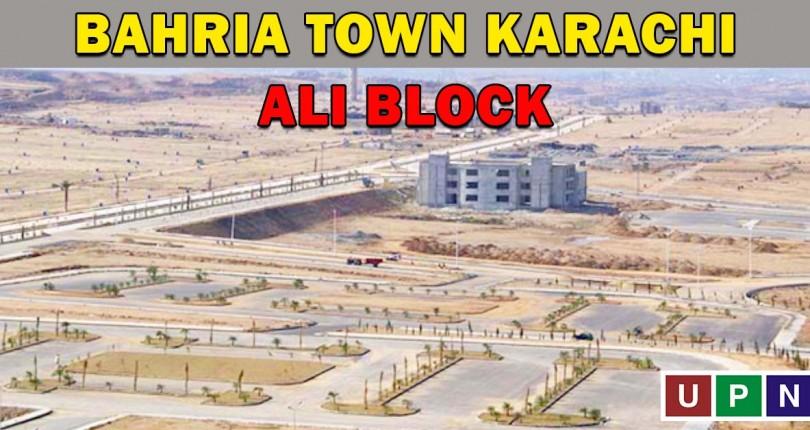 Ali Block Bahria Town Karachi – Plots, Villas, and Commercials for Sale