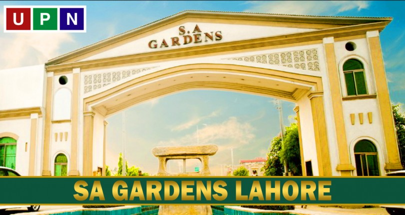 SA Gardens Lahore – Affordable Price Plots in Lahore